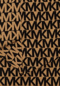 MICHAEL Michael Kors - ALLOVER SCARF - Szal - dark camel/ black - 2
