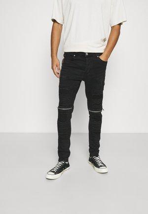 RUBINCMO - Jeans Skinny Fit - charcoal