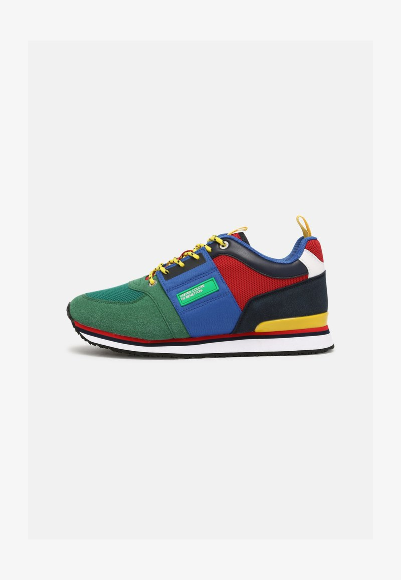 Benetton - POWER - Sneakers laag - green/red