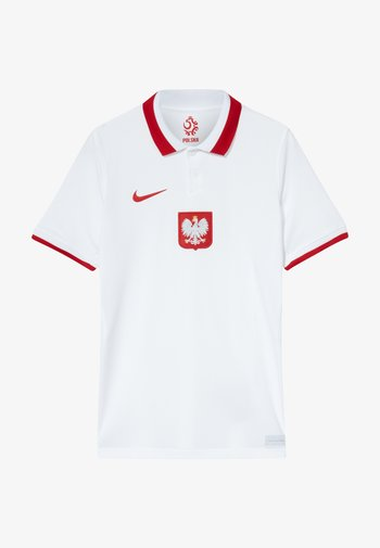 POLEN Y NK BRT STAD SS HM - National team wear - white/sport red