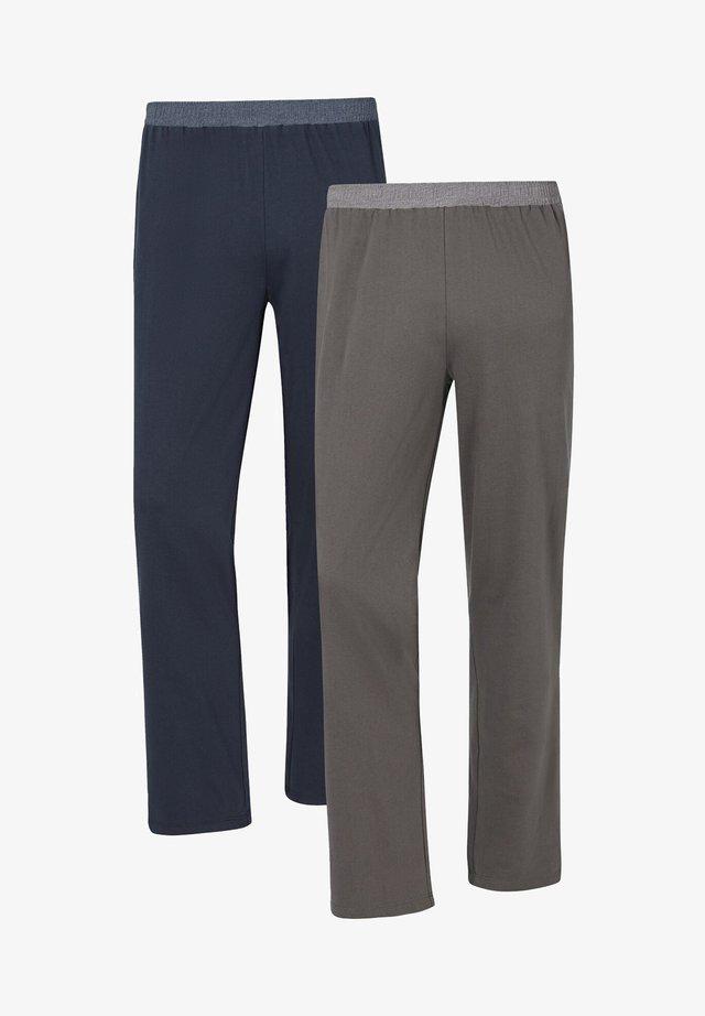 2 PACK  - Trainingsbroek - blau grau
