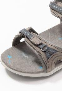 Hi-Tec - SILKY - Chodecké sandály - dark grey/blue - 5