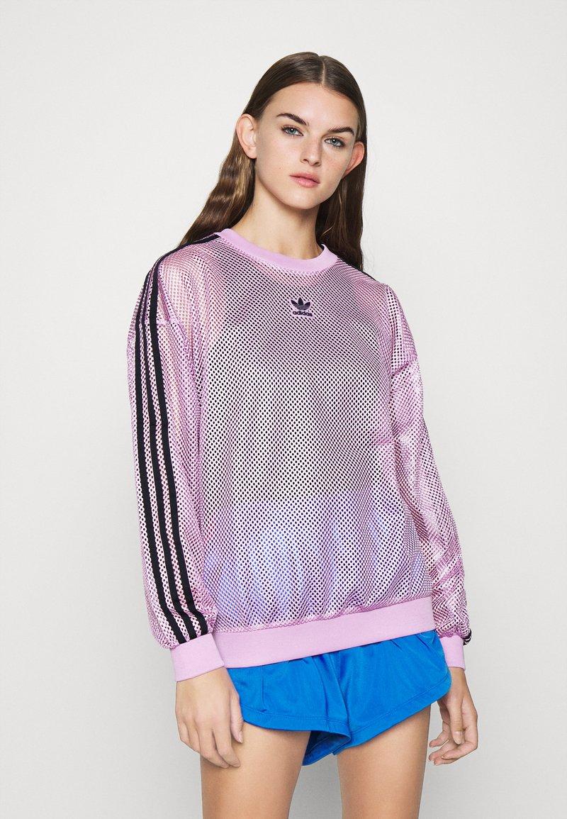 adidas Originals - CREW SPORTS INSPIRED - Langærmede T-shirts - magic berry
