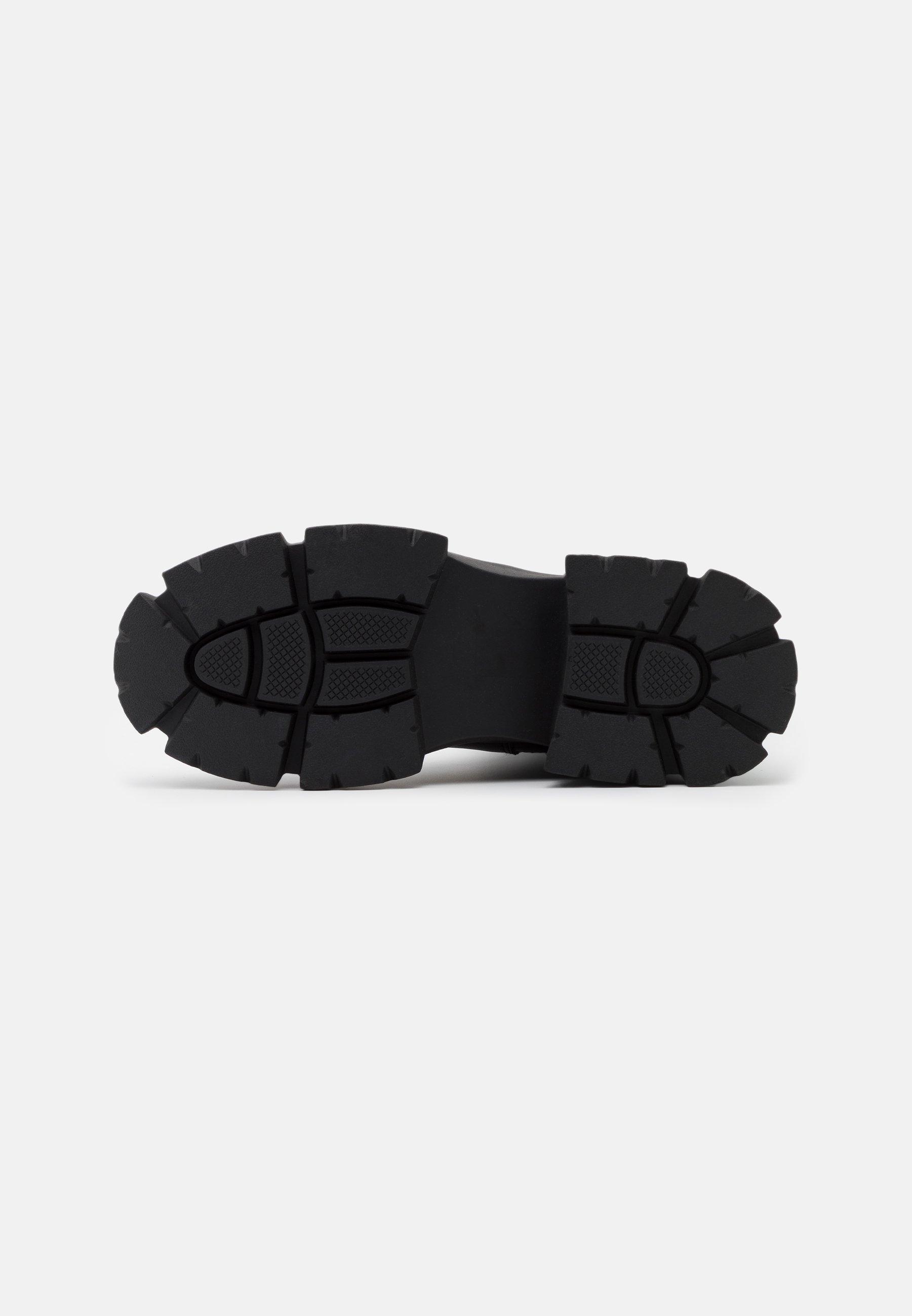 Steve Madden Transam - Platåstøvletter Black/svart