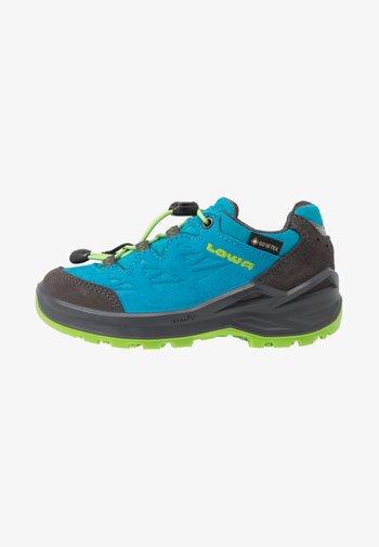 DIEGO II GTX  - Trekingové boty - blau/limone