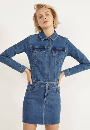 KURZER DENIM-ROCK 00644534 - A-lijn rok - light blue