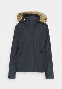 JET SKI SOLID - Snowboard jacket - true black
