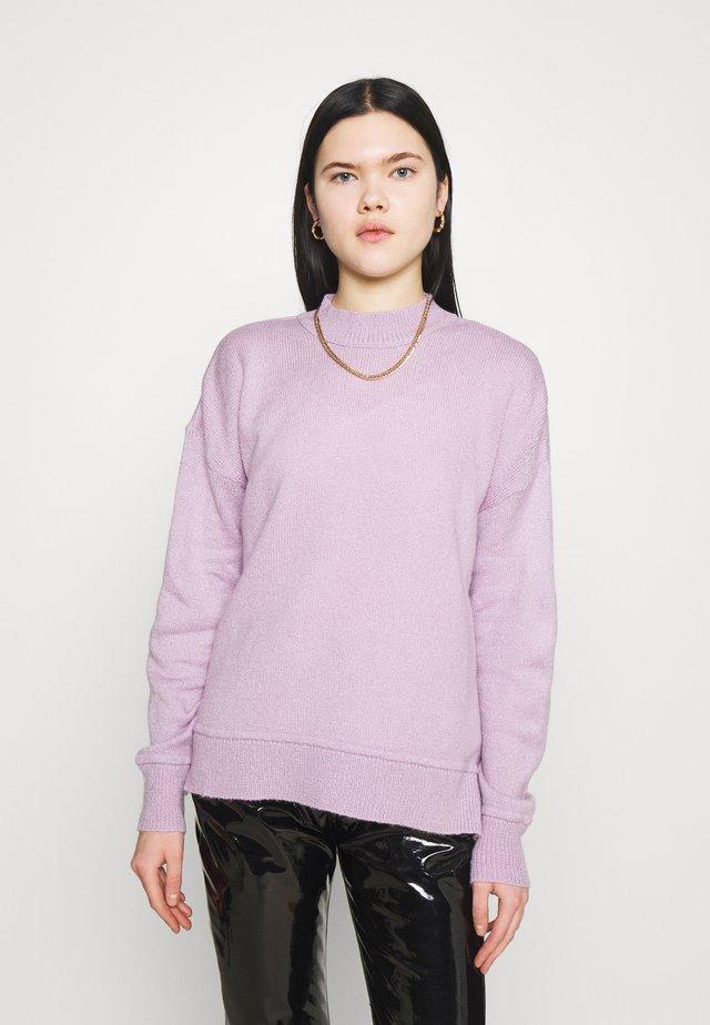 NMELINA ONECK - Svetr - pastel lilac