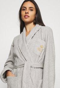 Lauren Ralph Lauren - LONG ROBE - Dressing gown - grey - 3