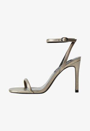 LALI1 - Korolliset sandaalit - dark silver