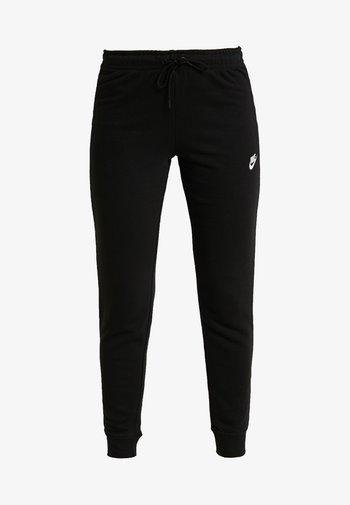TIGHT - Tracksuit bottoms - black/white