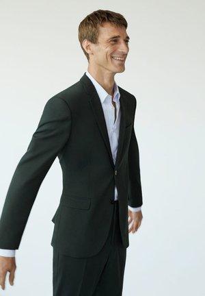 PAULO-I - Suit jacket - mørkegrøn