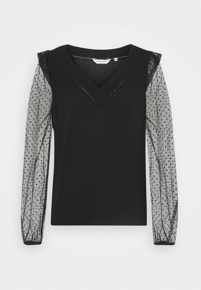 NAF NAF - OYE  - Long sleeved top - noir