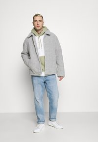 Nike Sportswear - HOODIE  - Felpa - summit white/light smoke grey - 1