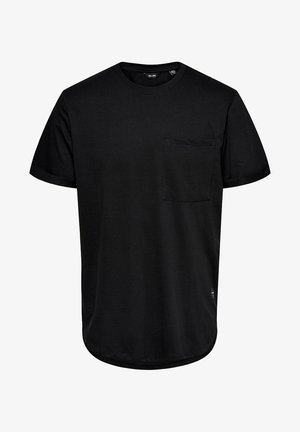 ONSGAVIN LIFE TEE - T-shirts - black