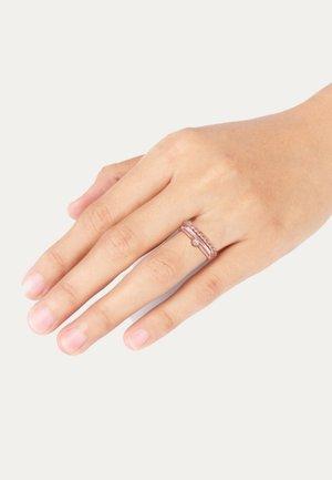 3 PACK BASIC - Ring - rose gold-coloured