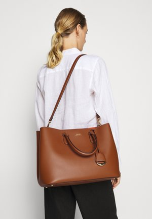 MARCY SATCHEL LARGE - Handbag - tan monarc
