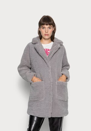 COAT TEDDY REVERS - Winterjas - grey