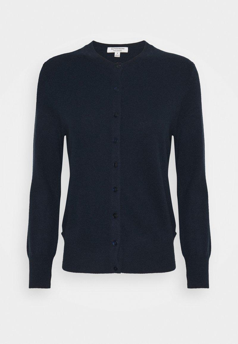 Marks & Spencer London - CREW - Kardigan - dark blue