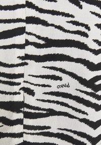 Pinko - UTOPIA - Day dress - bianco/nero - 7