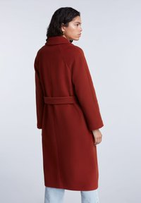 SET - Classic coat - maroon - 2