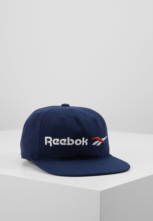 VECTOR FLAT PEAK - Cap - collegiate navy