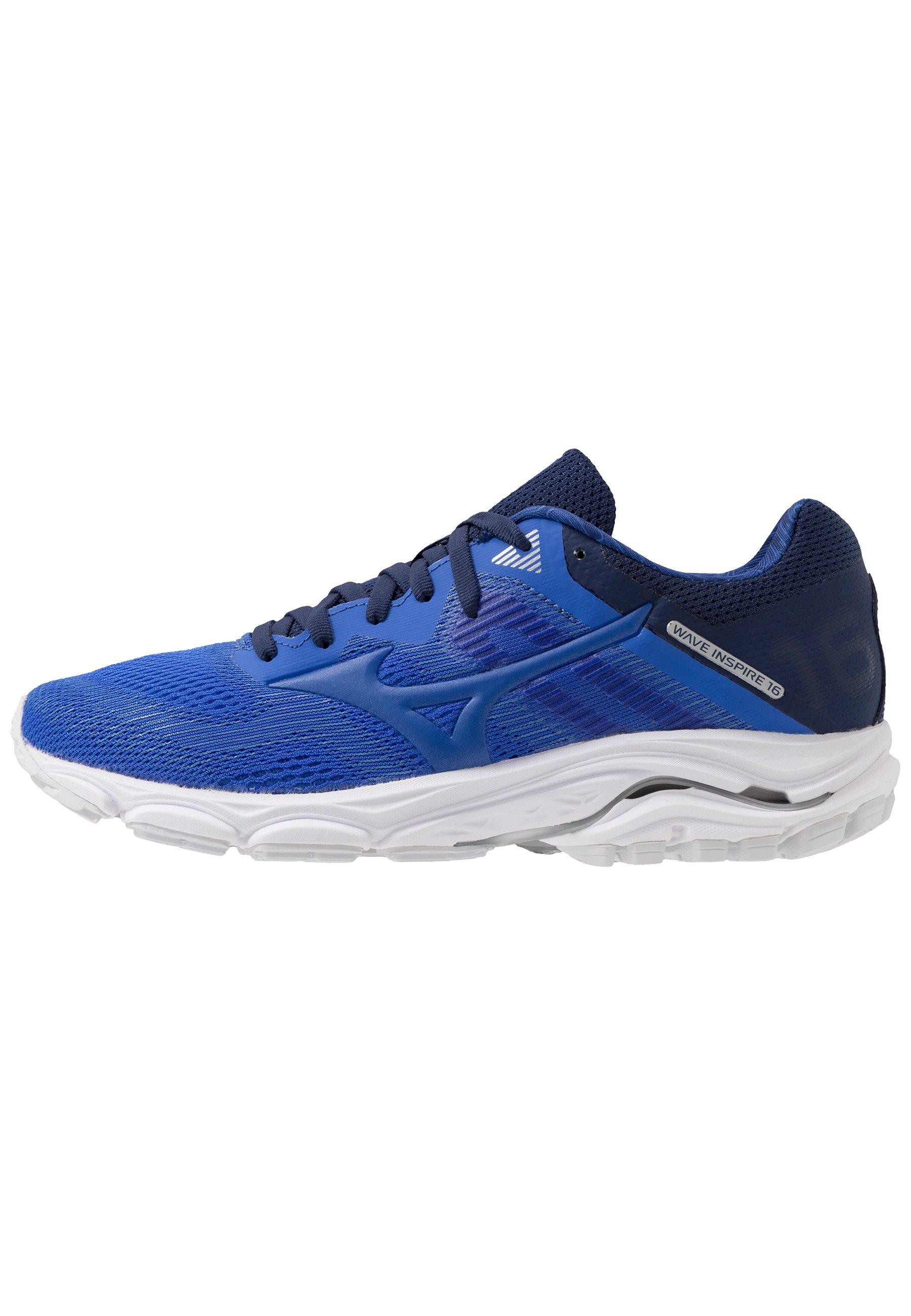 Mizuno WAVE INSPIRE 16 Nøytrale løpesko dazzling blue