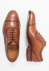 Barker - NEWMARKET - Stringate eleganti - rosewood - 1