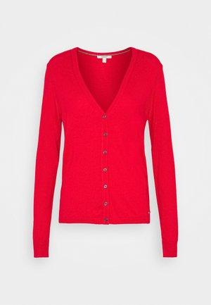 BASIC  - Strikjakke /Cardigans - red