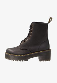 Dr. Martens - SHRIVER HI 8 EYE BOOT - Platform ankle boots - black - 1