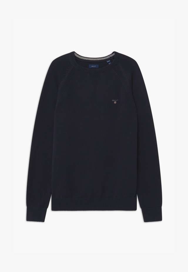 CASUAL CREW - Jumper - evening blue