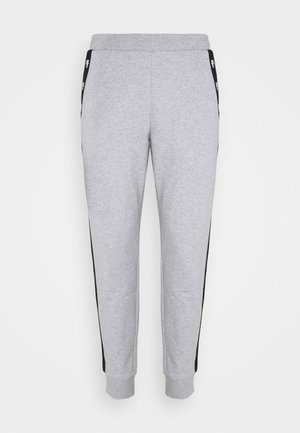 PANT TAPERED - Pantalon de survêtement - silver chine/black