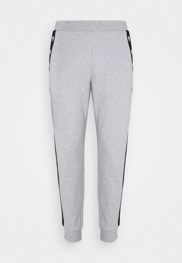 PANT TAPERED - Pantalon de survêtement - silver chine/black