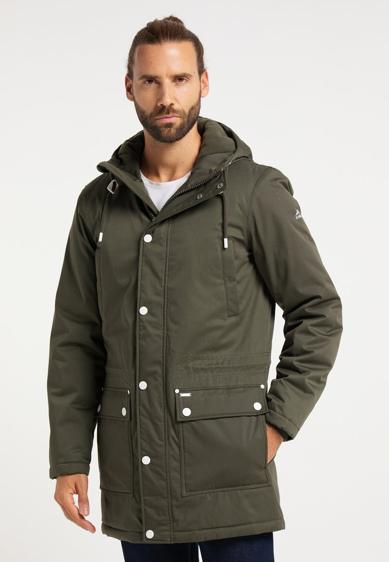 ICEBOUND - Winter coat - oliv