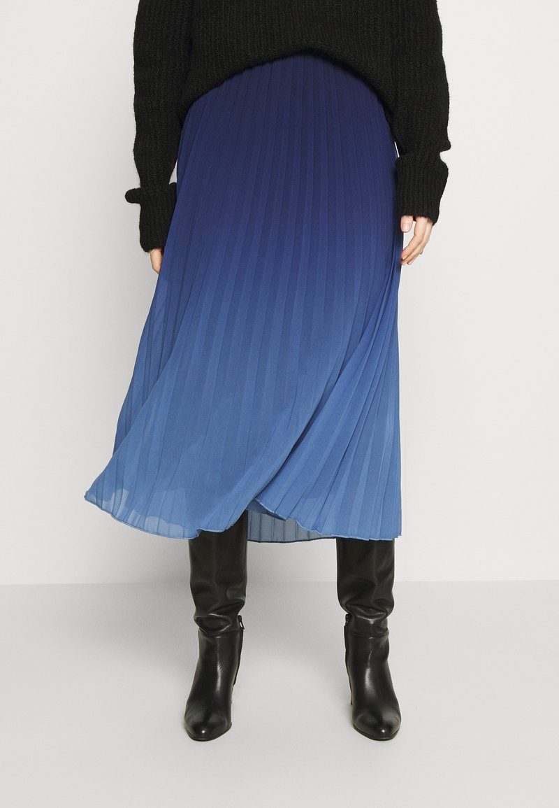 Desigual - FAL DARWIN - Maxi skirt - estate blue