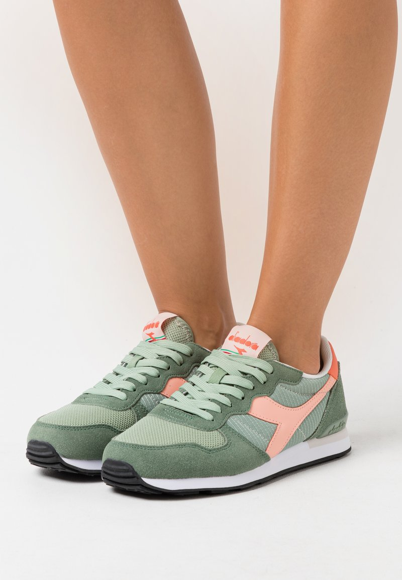 Diadora - Trainers - green basil/peach pearl