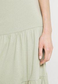 ONLY - ONLMAY LIFE SKIRT - Maxi skirt - desert sage - 4