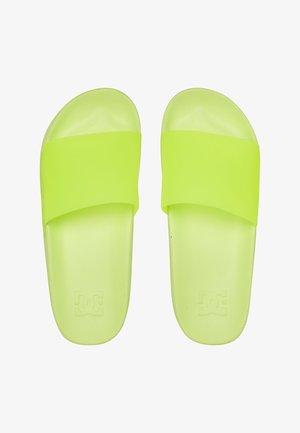Pool slides - yellow