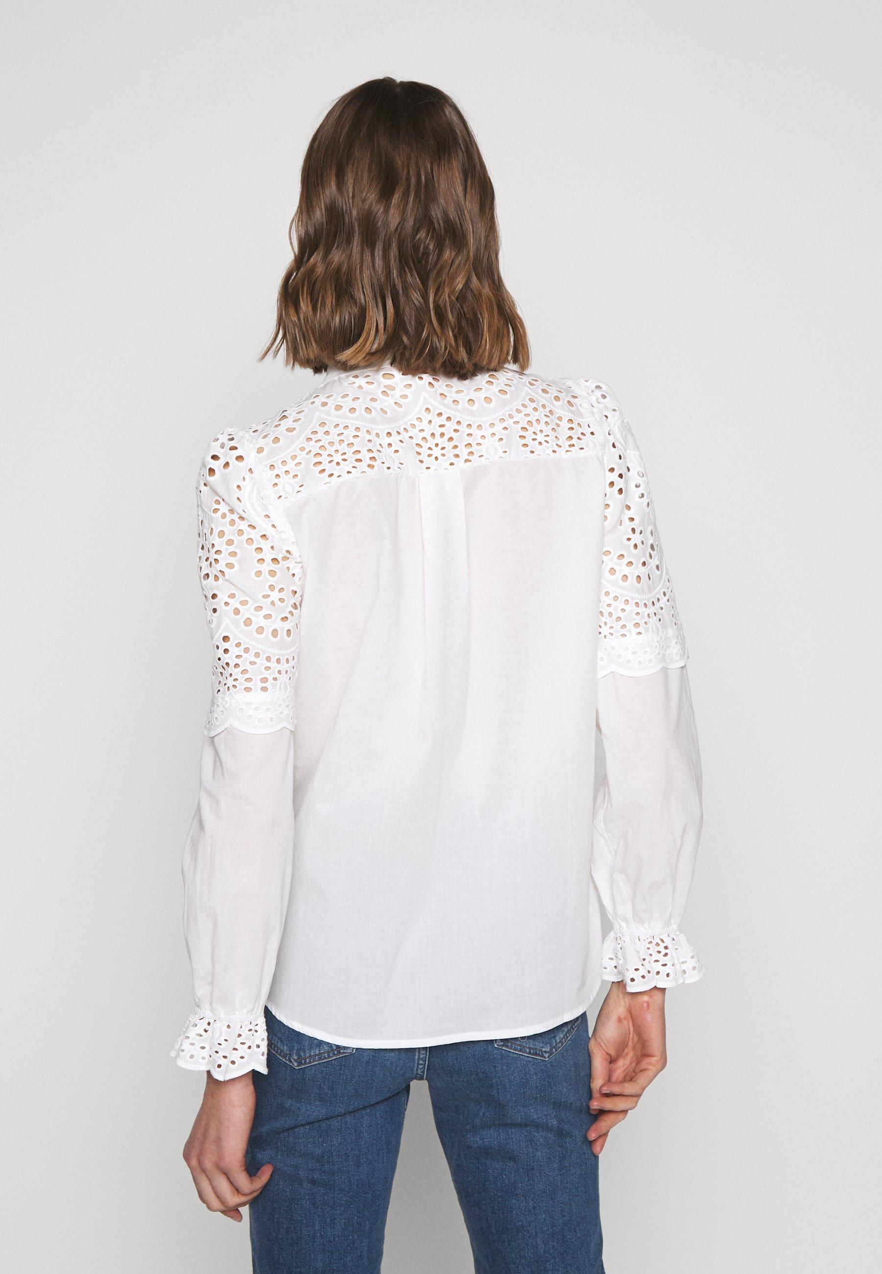 Bruuns Bazaar SIENNA ROBINE Skjorte snow whiteoffwhite