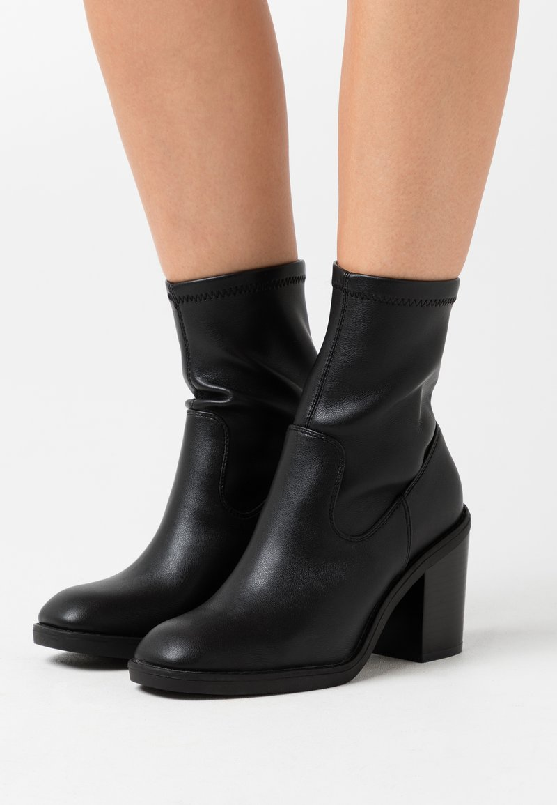 Even&Odd Wide Fit - Classic ankle boots - black