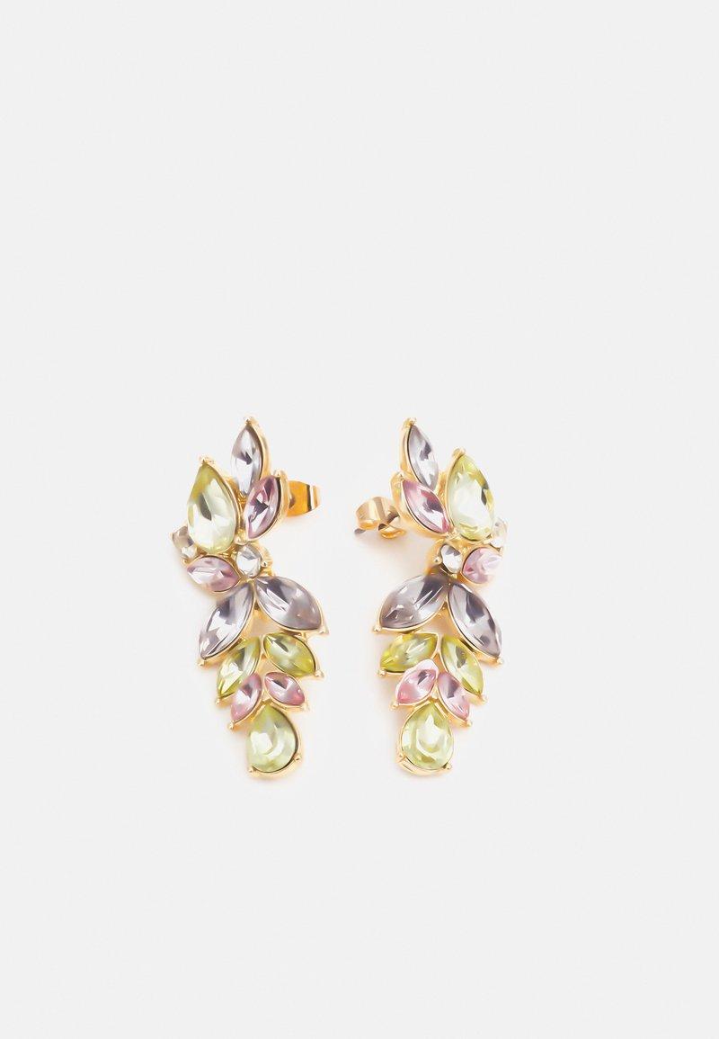 Pieces - PCPUSLE EARRINGS - Earrings - gold-coloured/multi