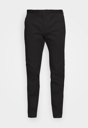 HELDOR - Suit trousers - black