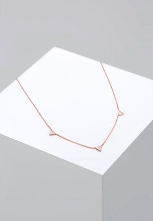 DREIECK - Necklace - roségold-coloured