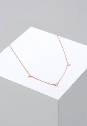 DREIECK - Náhrdelník - roségold-coloured