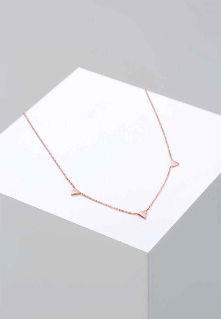 Elli - DREIECK - Necklace - roségold-coloured