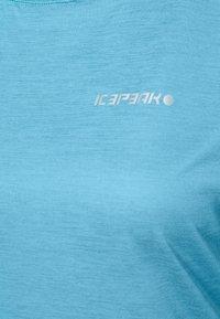 Icepeak - DEVINE - Jednoduché triko - aqua - 2