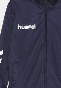 Hummel - PROMO SET UNISEX - Tracksuit - marine - 3