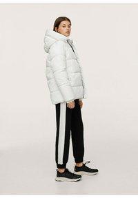 Mango - STEPP-ANORAK MIT KAPUZE - Winter coat - wit - 1