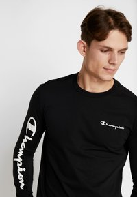 Champion - LONG SLEEVE - Top s dlouhým rukávem - black - 3
