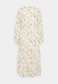 TOM TAILOR DENIM - PRINTED MIDI DRESS - Shirt dress - creme - 1